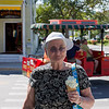 Jean can't fight the temptation of Key Lime Ice-cream
