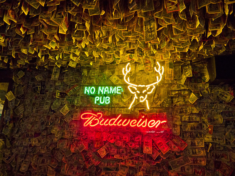 No Name Pub MM30 on Big Pine Key.