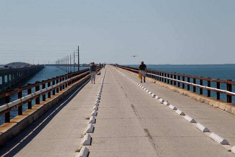 Walk the Walk on 7 Mile Bridge.
