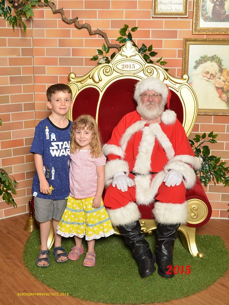 Santa photo 2015