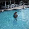 Enjoying the pool at Lakeland Harbor