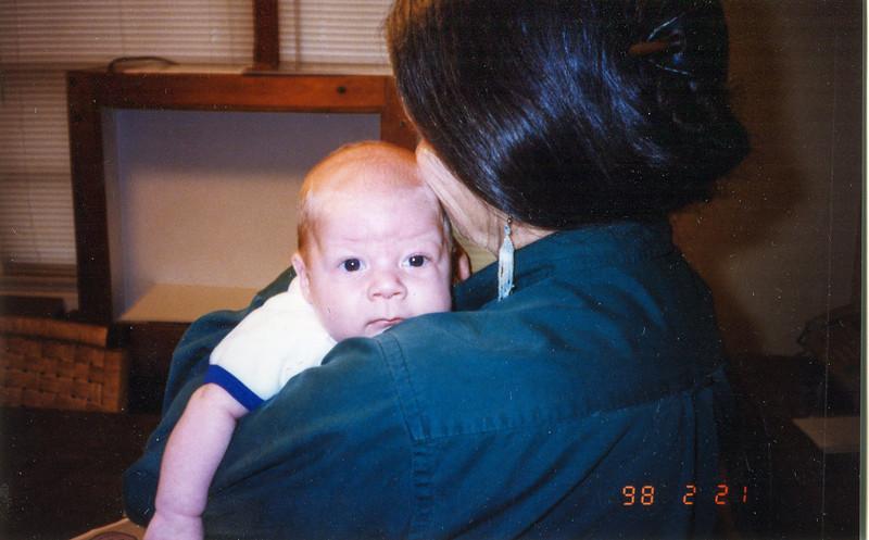 Cherry and EJ February 21, 1998 1446 14th Street Hempstead, Texas