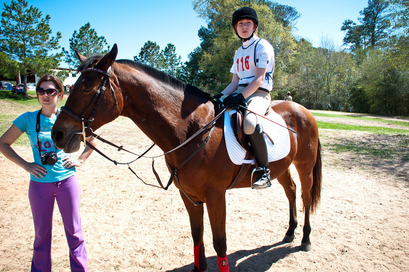 Marcie At Pine Hill Horse Show