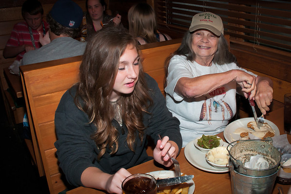 Mikey's 11th Birthday Party At Texas Roadhouse