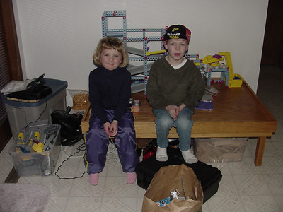 3-12-2001 Kids at Home