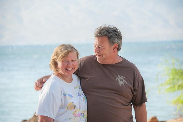 Kathy & David, Beach Portrait