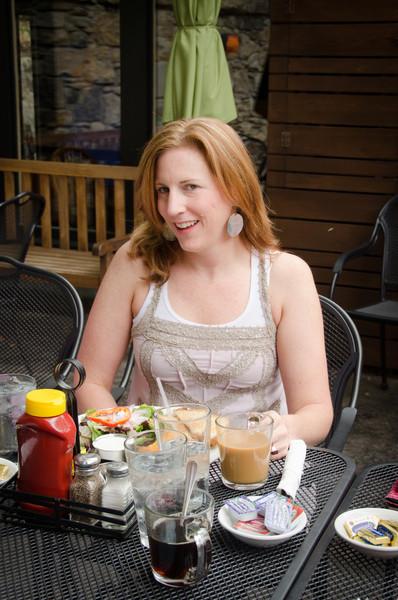 Kim Shelden Holt's Bridesmaid Luncheon at Local Flavors, Cafe, Eureka Springs, Arkansas