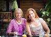 Kim's Mom, Susan Shelden. Kim Shelden Holt's Bridesmaid Luncheon at Local Flavors, Cafe, Eureka Springs, Arkansas