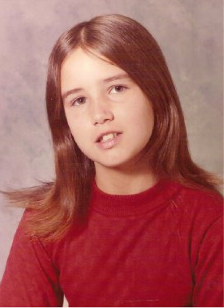 Our cousin Terri when young.