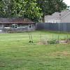Doug's little garden in the back yard.