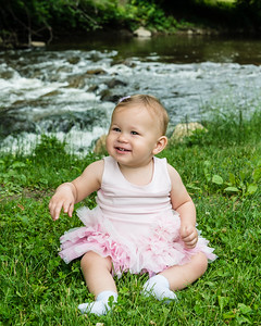 Kinley's First Birthday