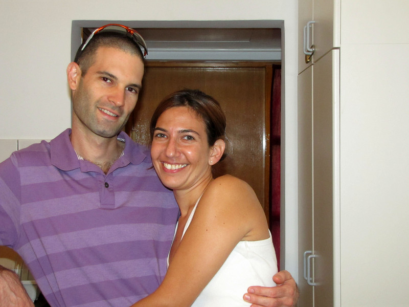 28-Orr and Maayan came to my motel room to say goodbye