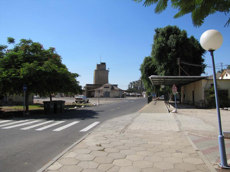 16-Degania B, grain mill and bus stop