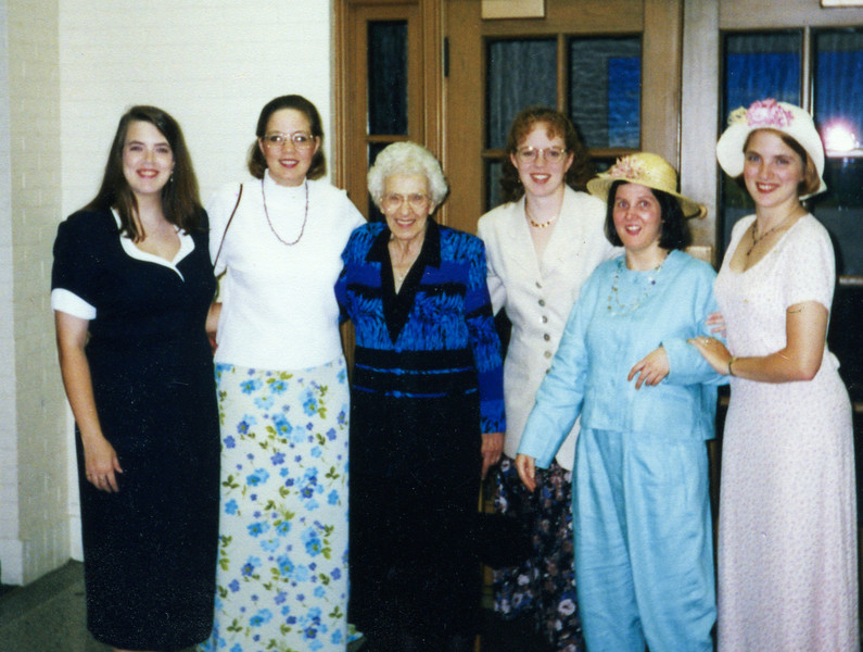Grandma and the girls