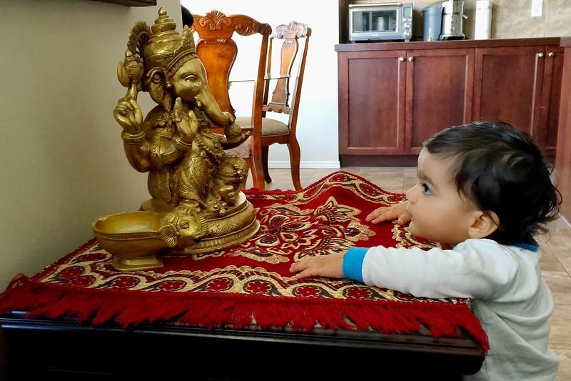 Talking to Ganesha!