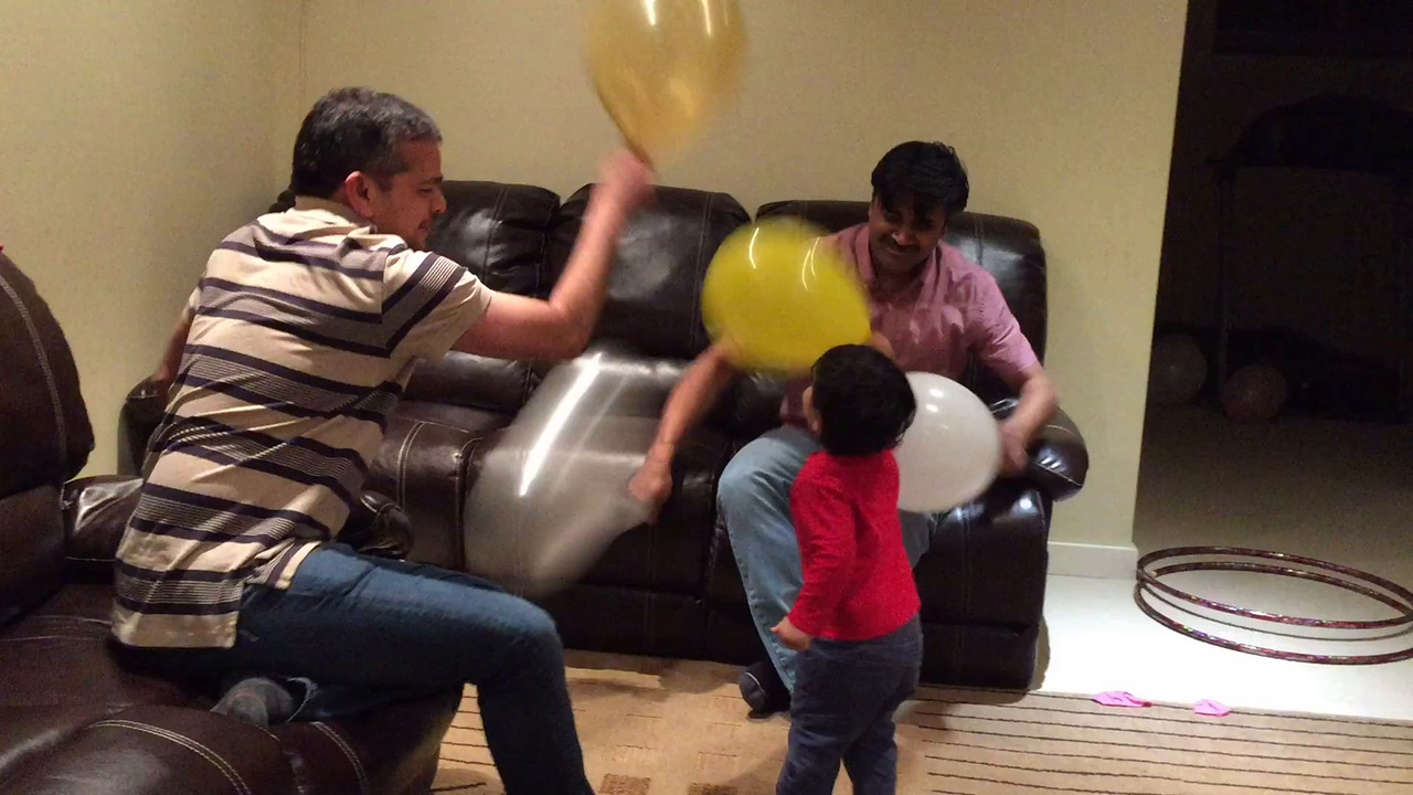 DHAMAAL with BALLOONS