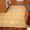 TILE!  It's set and waiting for grout now.