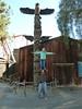 Another shoulder shot -- Totem pole.