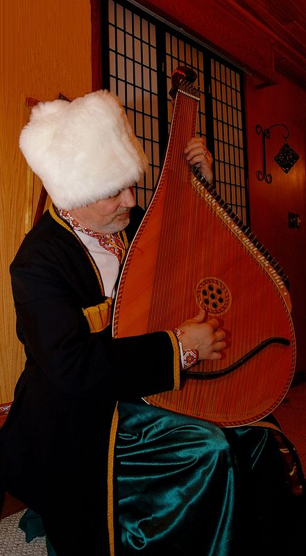 Music soothes the savage Cossack!