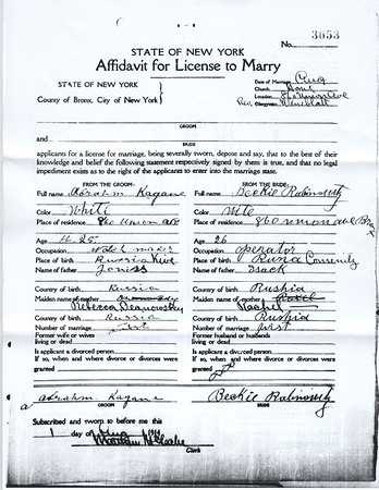 Kogan Family Documentation