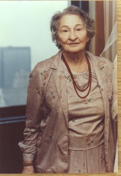 Sarah Rabiner 1982