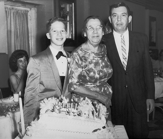 Steve's Bar Mitzvah in 1962