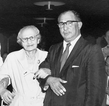 Dora Rabiner and her son Abraham