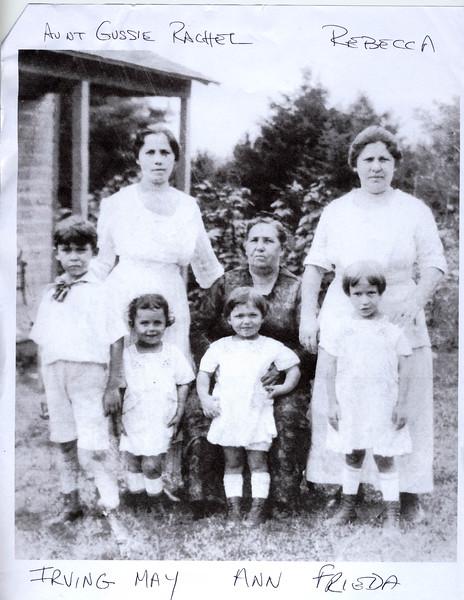 Rachel Goldstein Rabinowitz and Family