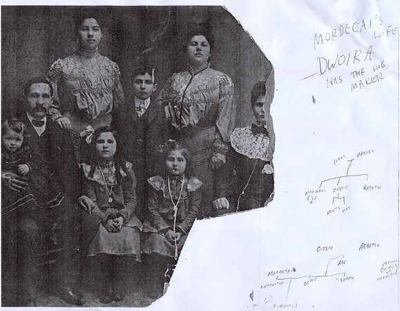 Max and Dora Rabiner and family