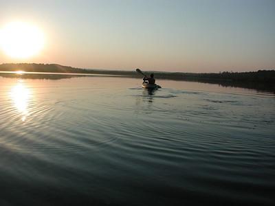 Kayaking on Turee Pond - Bow, NH