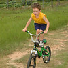 It's amazing to see how rapidly Zac is advancing in his bike-riding skills.