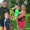 The Absons in Hawaii