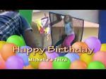 Michelle's Third Birthday