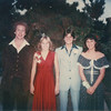 Before going to the Homecoming Dance (all in one car)<br /> With/ Richard Carol and Barbara Campbell
