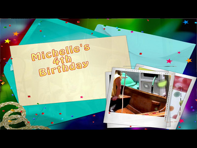 This is a video of Michelle's Birthday party.