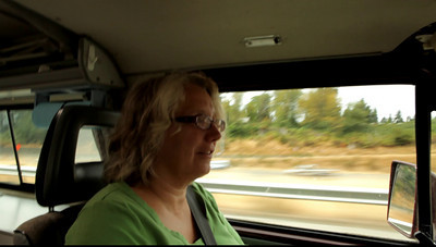The traveling video.  Diana is driving and we are headed to the ferry to take us to Friday Harbor on San Juan Island.