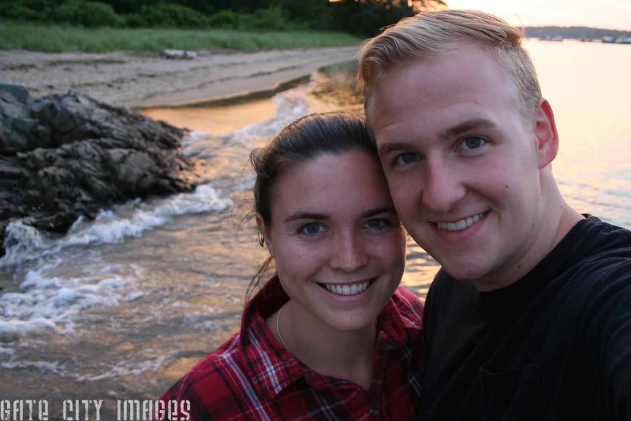 IMG_3066 Josh and Kristin sunset