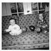 Carol (left) and Martha Fischer 1954