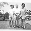 Betty Doremus Fischer, Charlie Fischer and friend  Mantoloking NJ