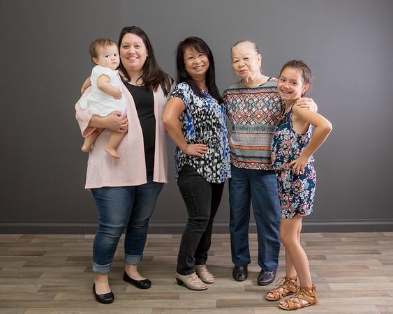 Kumiko  and family
