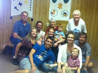 Kunkel Family at Granbury 9-11-11