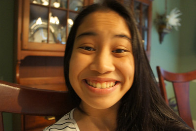 Naomi snatched my camera!
