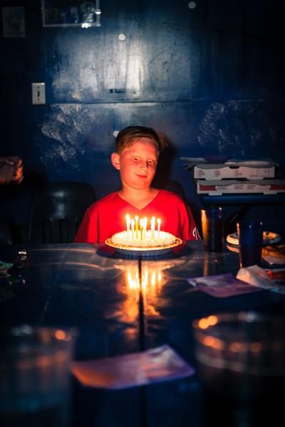 Kyle's 10th birthday party. Fairfax, VA. Digital. August 2017.