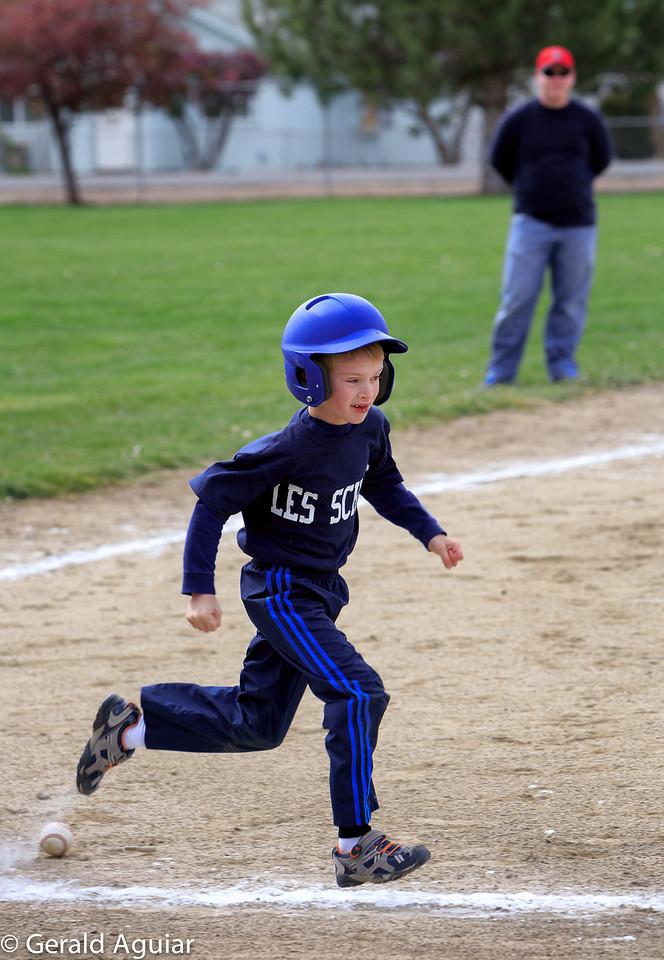Kyle picking up speed!