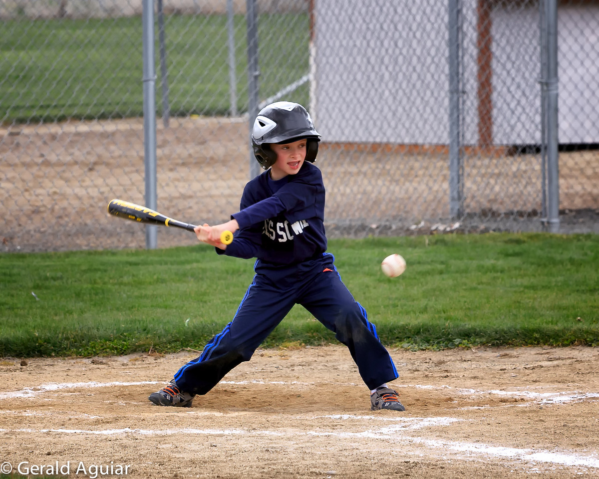 Kyle at bat a second time