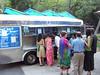 The Taco Truck feeding the wedding goers.