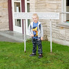 Kyle's first day of his last year at pre-school at LIttle Pilgrim School