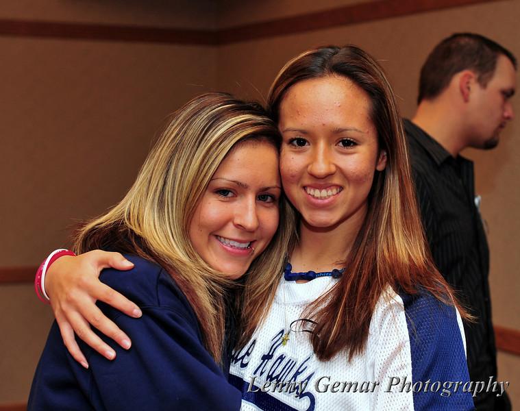 Ashlee Viveros and Vanessa Adame