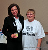 Joan Mulvey and Carol Hawn.  Carol runs the sports events snack bars and works closely with the softball players who help out.