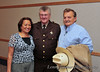 Claire Gemar, Stark County Sheriff Clarence Tuhy, and Fred.
